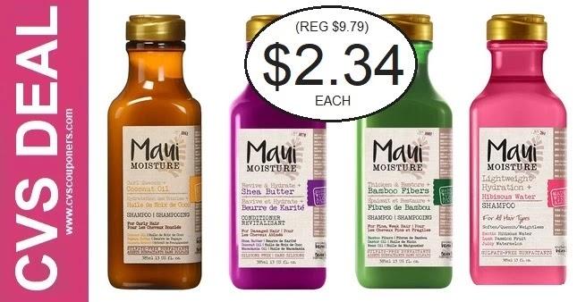 Save Big on Maui Shampoo at CVS