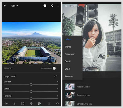 lightroom full preset apk