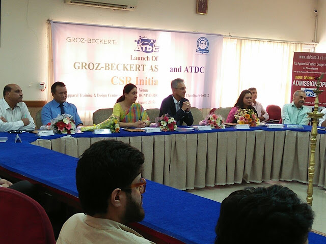 Launch of GROZ - BECKERT ASIA (GBA) and ATDC CSR Initiative for Vocational Training at ATDC Chandigarh