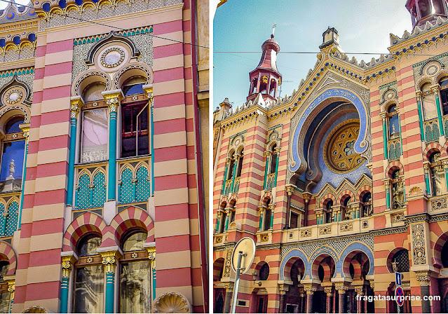 Sinagoga Jerusalém ou Sinagoga do Jubileu, Praga, República Tcheca