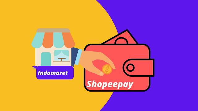 Cara mengisi saldo shopeepay di Indomaret