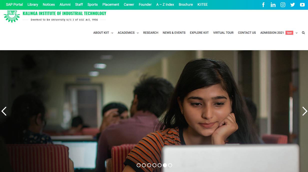KIIT University India Scholarship Programme (KUISP), Last Date: 15 August 2021