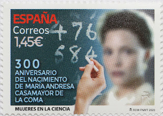 300 ANIVERSARIO DEL NACIMIENTO DE MARÍA ANDRESA CASAMAYOR DE LA COMA