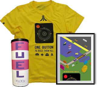 Nerd Collect - Atari - caixa por assinatura - caixinha por assinatura