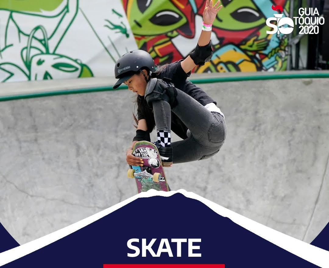 Como funciona o skate na Olimpíada