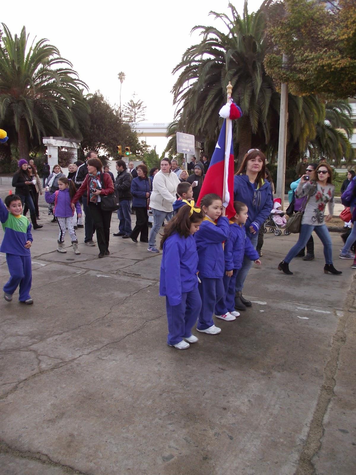 Jard n infantil mi peque o mundo vi a del mar desfile for Cronograma jardin infantil 2015