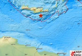 Σεισμός 4,3R στην Ιεράπετρα