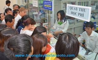 Học phí đã bao gồm phí hồ sơ khi đăng ký khóa học lái xe ô tô B2 tại Hà Nội