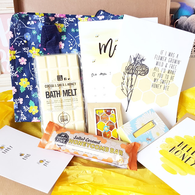 March's Bee-utiful Treatbox | A Happy Little Box of Randomness