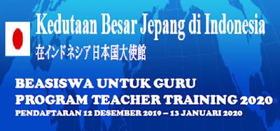 Beasiswa Untuk Guru Program Teacher Training 2020