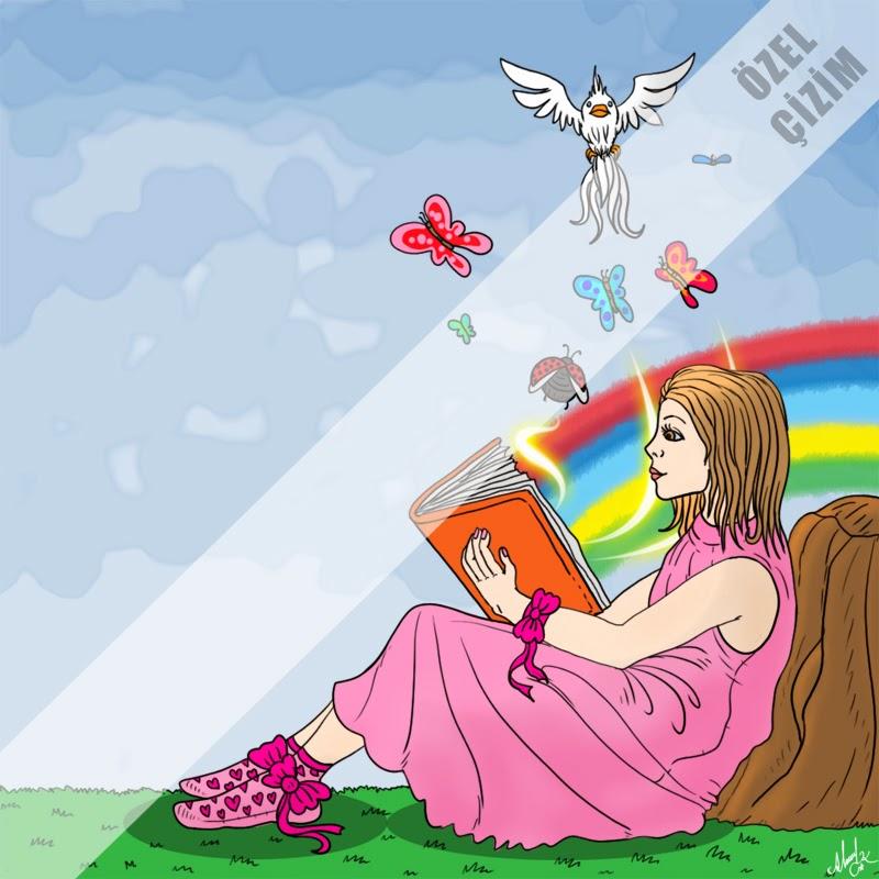 genç kız, İllustrasyon, kız illustrasyonu, Profil Resmi, profil resmi çizdir, profil çizimi, Resim Çizdir, sosyal medya için, Çizim,