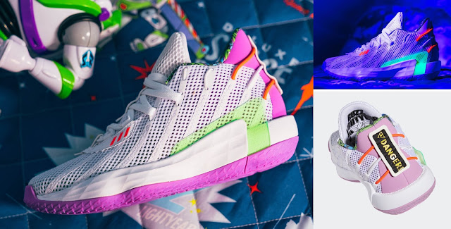 Adidas Toy Story Buzz Basketball Shoes
