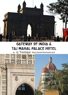 Taj Mahal Palace Hotel Chhatrapati Sivaji statue Gateway of India Mumbai