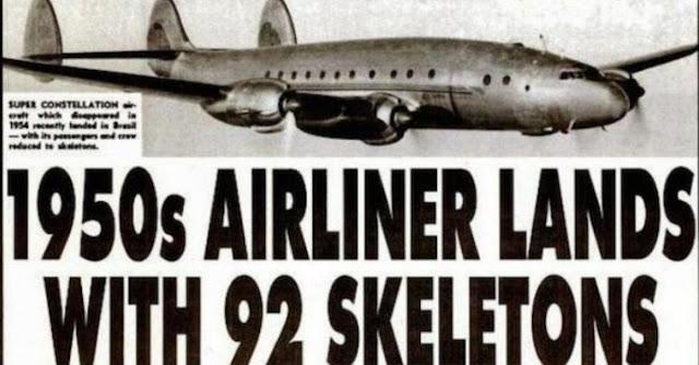 O avião que pousou com 92 esqueletos a bordo - Além da Imaginação? Ou Realidade?