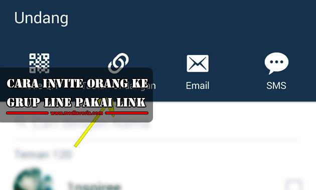 Cara Invite Orang ke Grup Line Pakai Link