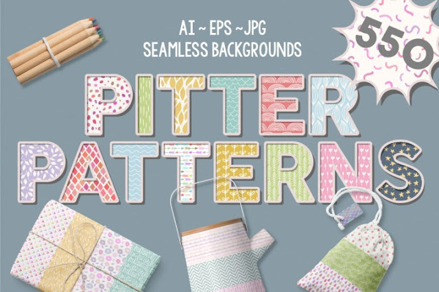 https://thehungryjpeg.com/product/66323-pitter-patterns/