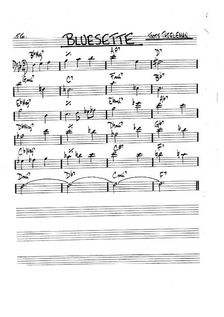 Partitura Violonchelo Toots Thieleman