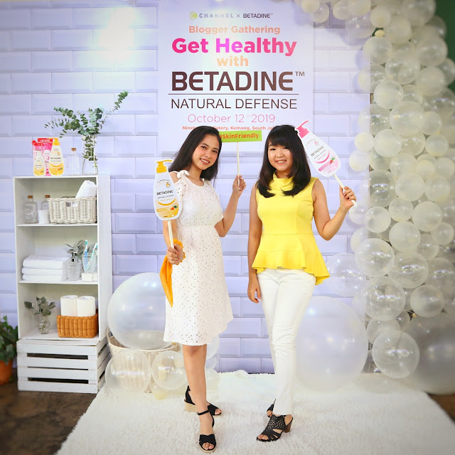 Get Healthy with Betadine Natural Defense