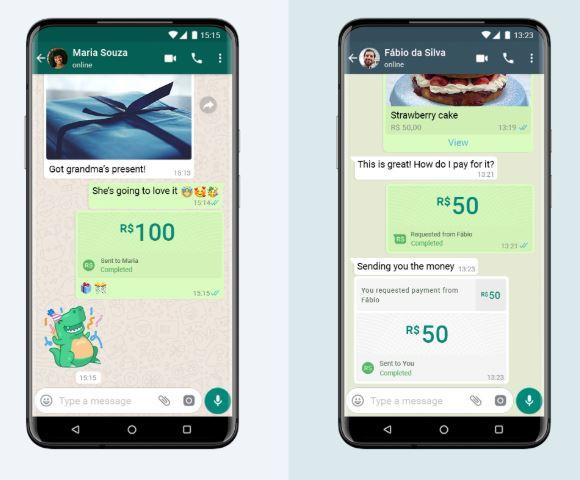 Transferência de dinheiro pelo WhatsApp começa a funcionar no Brasil; veja como funciona  -  Adamantina Notìcias