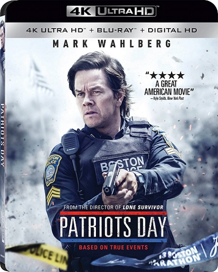 Patriots Day 4K (Día del Atentado 4K) (2016) 2160p 4K UltraHD BluRay HDR 22GB mkv Dual Audio DTS-HD 7.1 ch
