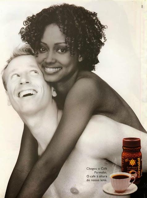 Campanha de lançamento do Café Parmalat, em 1997.