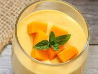 Pudding Mangga Susu dan Cara Membuatnya