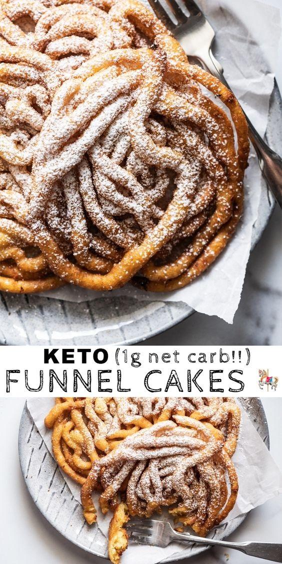 Homemade Keto Funnel Cakes
