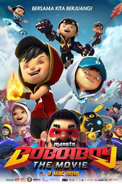 Boboiboy: The Movie (2016) HDTV 1080p