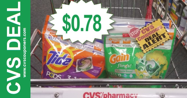 Gain & Tide CVS Cash Card Deal 1117-1123