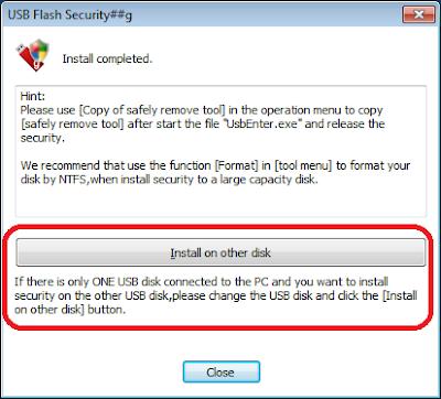 Cara Melindungi USB Flashdisk Anda Dengan Kata Sandi - USB FLASH