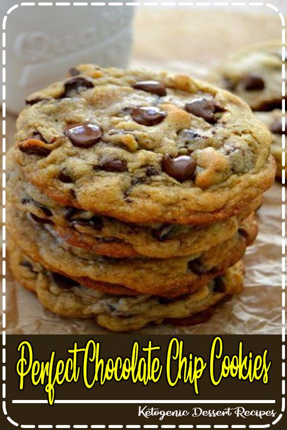 chocolate chip cookies are completely buttery Perfect Chocolate Chip Cookies