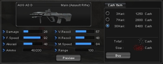 Senjata AUG