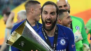 Higuain reflects on Chelsea loan spell
