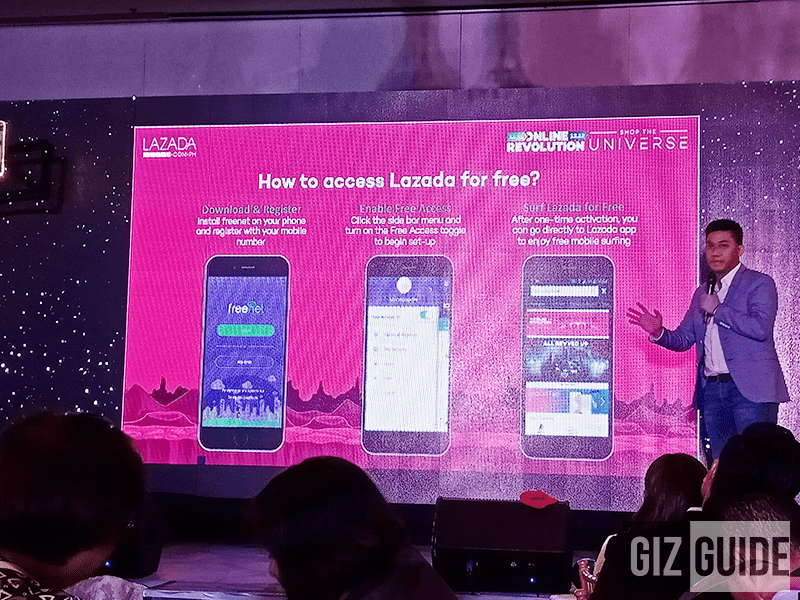 Lazada is now available on freenet!