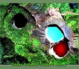 Sejarah Terbentuknya Danau Kelimutu Danau 3 Warna