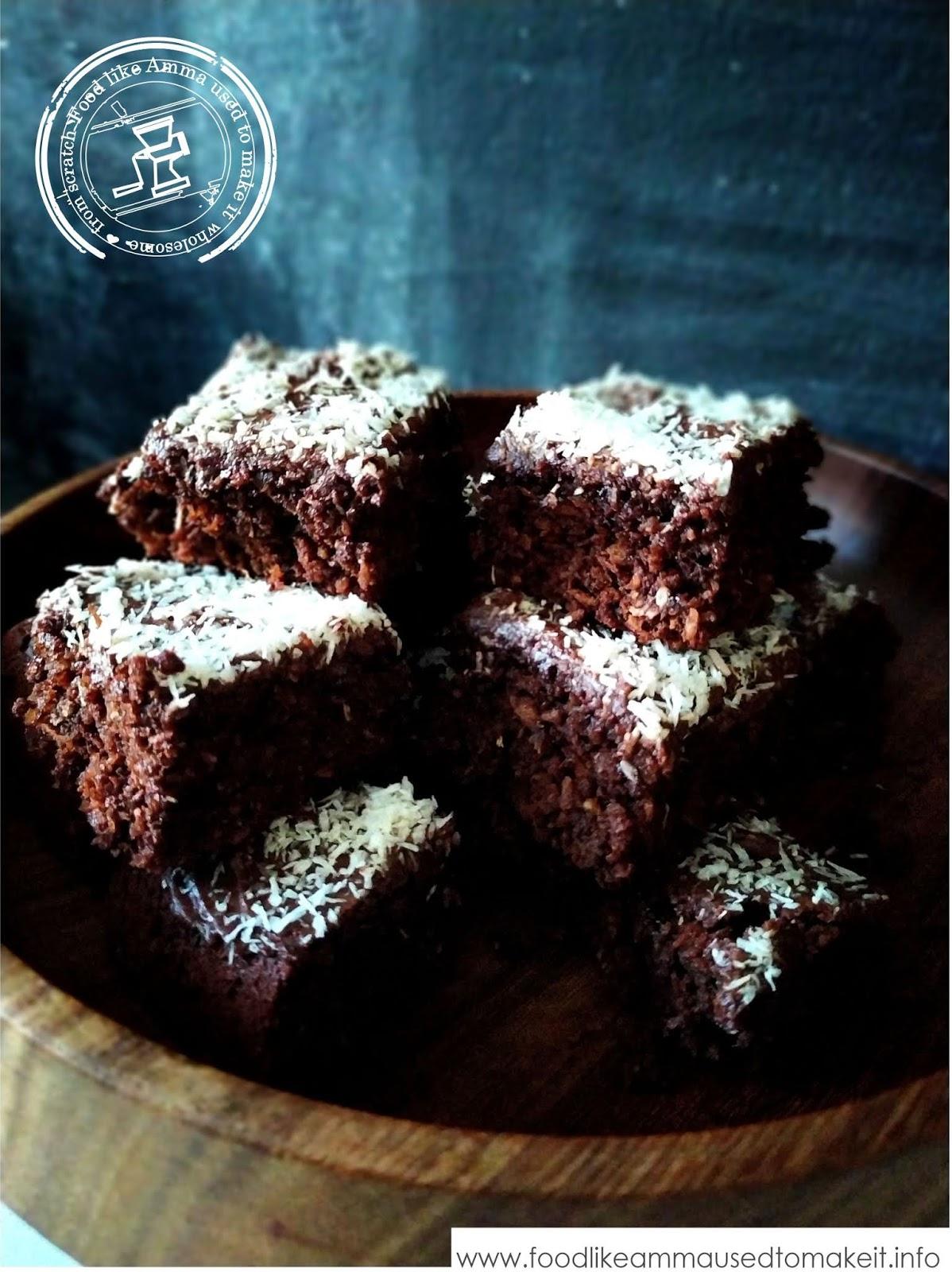 Chocolate Coconut Squares Recipe