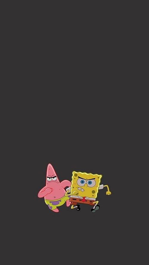 Gambar spongebob dan patrik