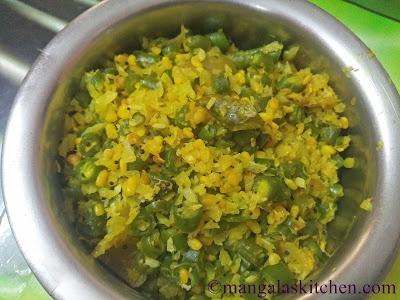 Beans Cabbage Poriyal