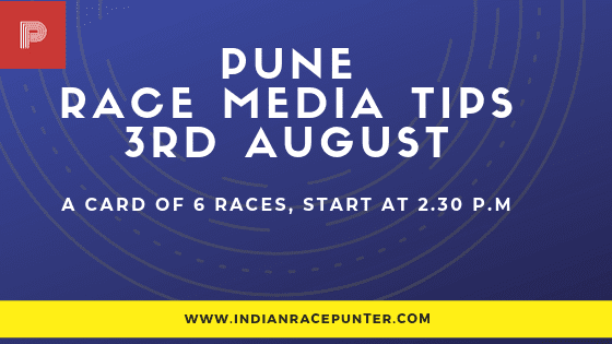 Pune Race Media Tips 3rd August