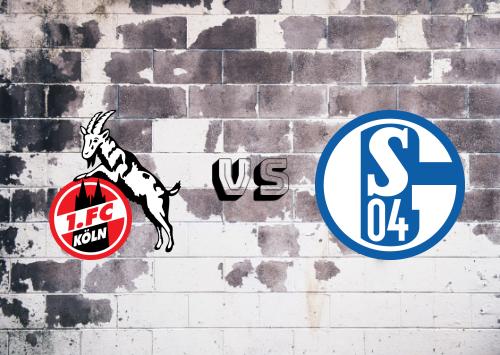 Köln vs Schalke 04  Resumen