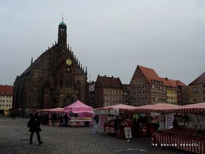 Εκκλησία της Παναγίας στη Νυρεμβέργη και αγορά / Frauenkirche, the Church of our Lady in Nuremberg
