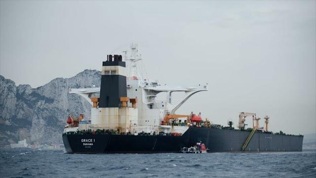 EEUU pide a Gibraltar no liberar el petrolero con crudo iraní