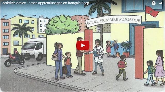 Activités orales 1: mes apprentissages en français 2aep