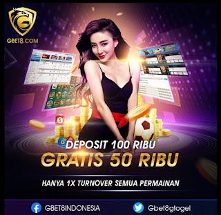 GBET8 - Hot Promo Freebet Gratis IDR 20K Tanpa Deposit