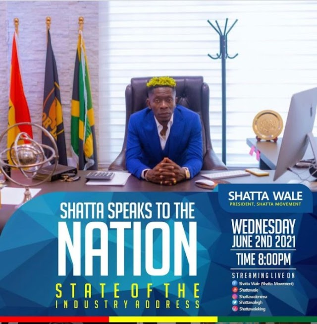 SM Boss Shatta Wale To address The Nation on Wednesday