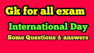 Questions on International Day