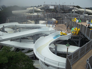 Toshimaen water slides
