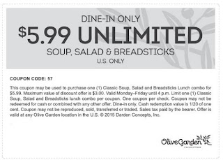 photo relating to Olive Garden Printable Coupons titled Olive Backyard Printable Coupon codes Could possibly 2018 Printable Coupon