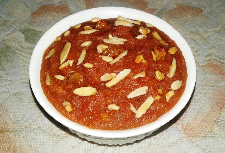 watermelon Rava Kesari