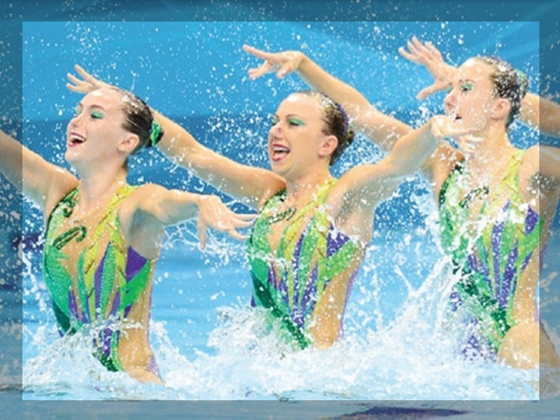 Russia's fourth consecutive clean sweep in swimminged swimming